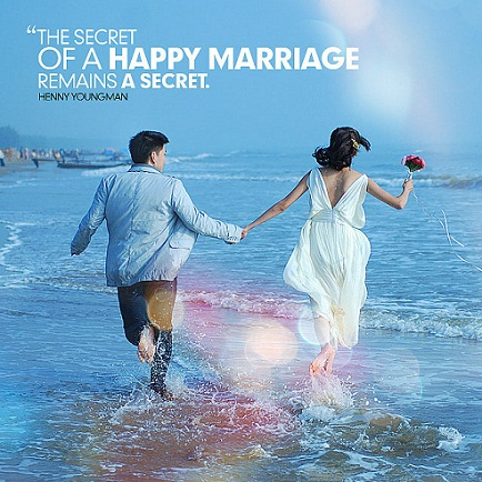 The secret of a happy marriage remains a secret inspirational quotes