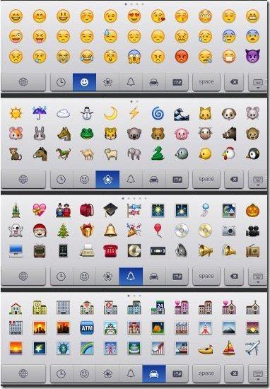 emoticons facebooks