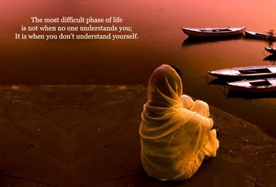 The most difficult phase of life is... inspirations