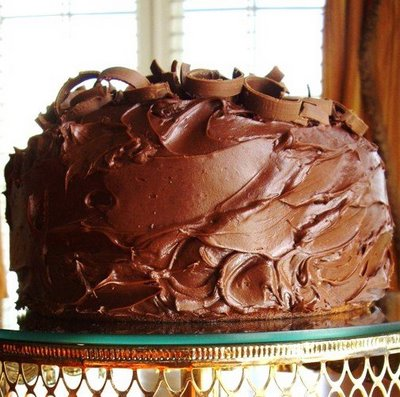 Stylish german chocolate cake