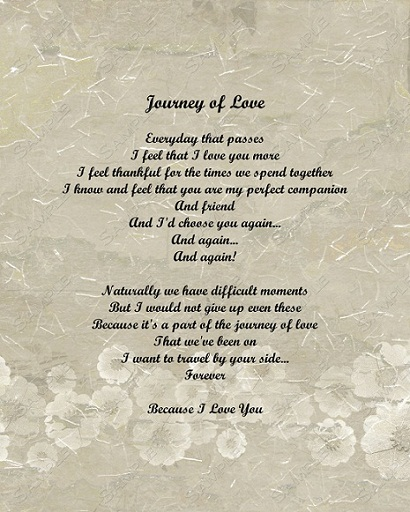 Journey Of Love love poems