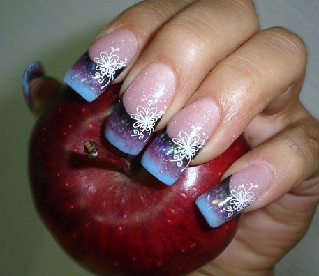Large nail art