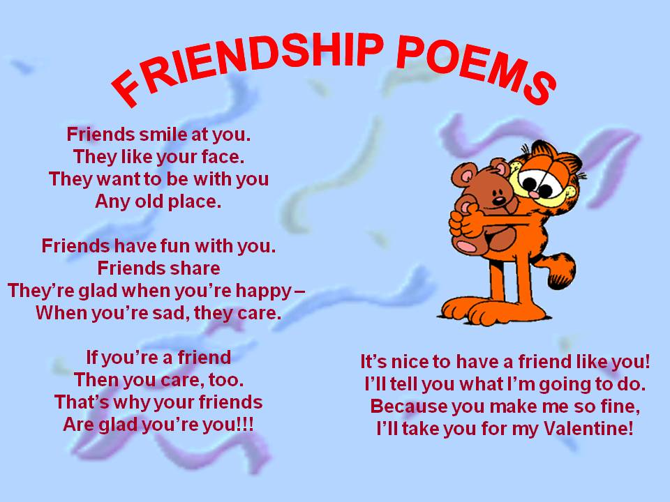 Friendship Love  friendship poems