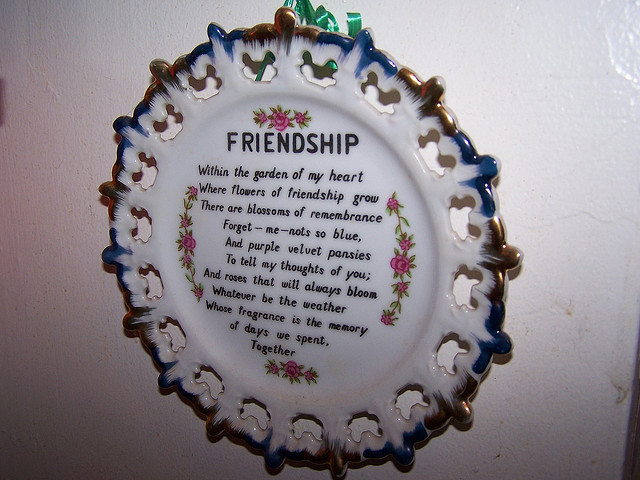 within the garden of my heart where flowers of frienship grow friendship poem
