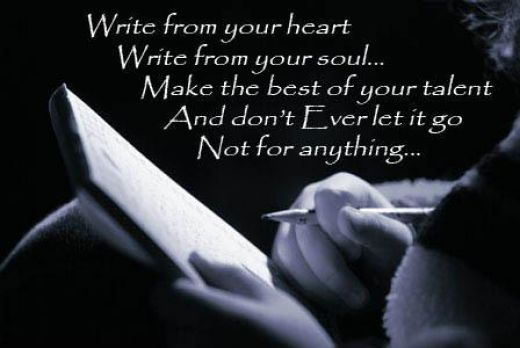 Write From Heart short love poems