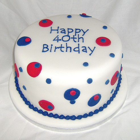 40th Life cake