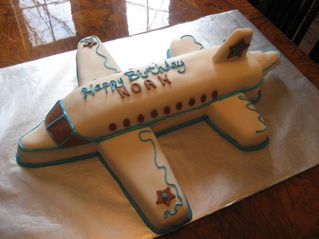 Cake Style birthday cake