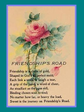 Friendship is a chain of gold friendship poem
