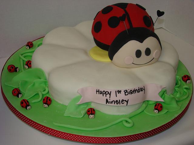 Baby Cake birthday cake