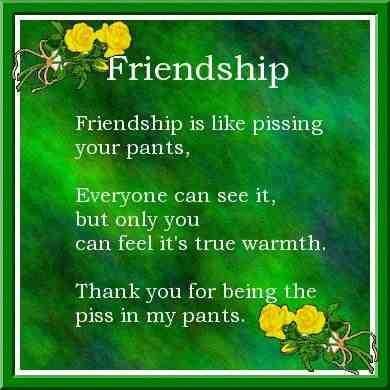 Friendship friendship poem