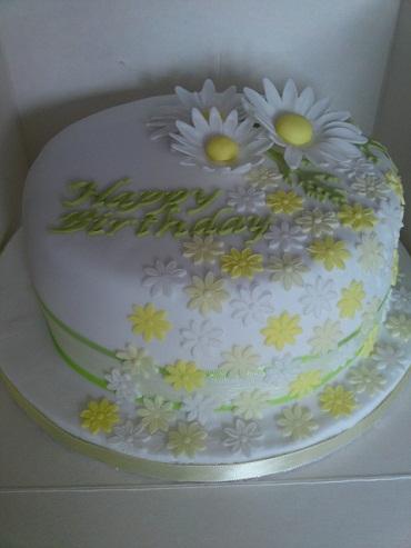 Flowers cake designs