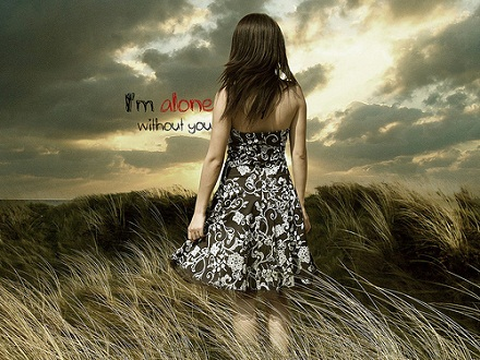 Alone i miss you