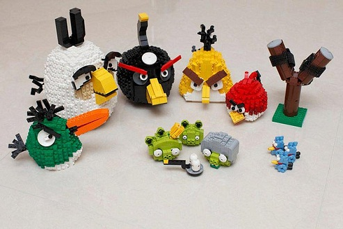 Hand Made angry birds