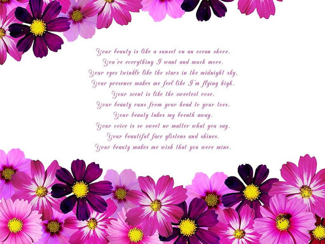 Your Beauty poems