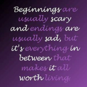 Beginnings Are Scary short poems