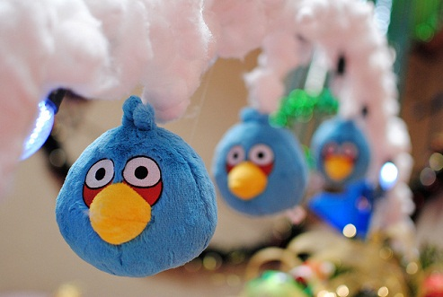 Soft angry birds
