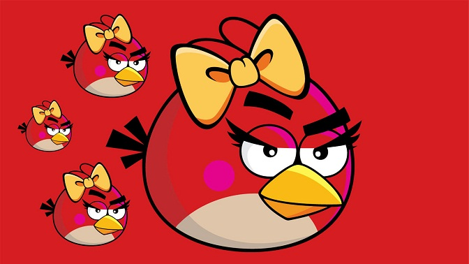 Red Style angry birds