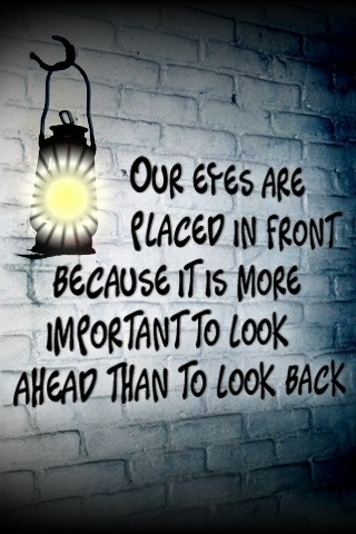 Our eyes are placed in front because.. friendship poems