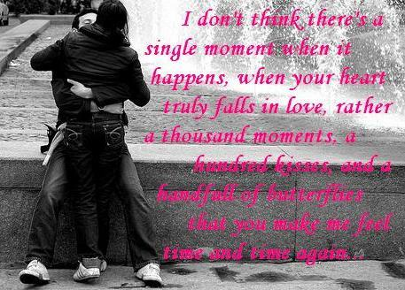 When your heart truly falls in love friendship poem
