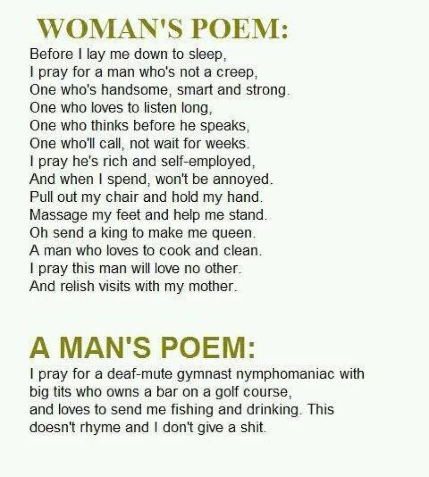 Woman's Poem love poems