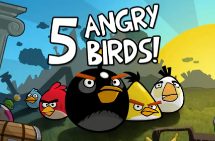 Top 5 family angry birds picture