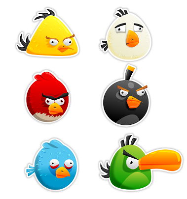 Smart Characters angry birds
