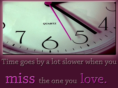 Time missing you