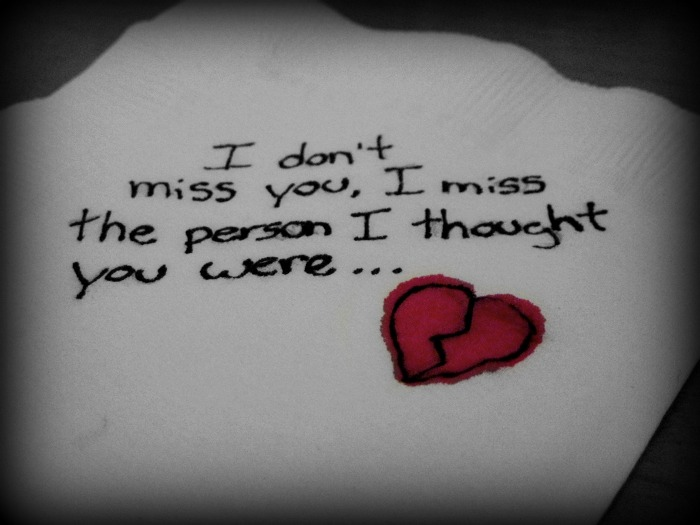 I Miss the Person miss you quotes
