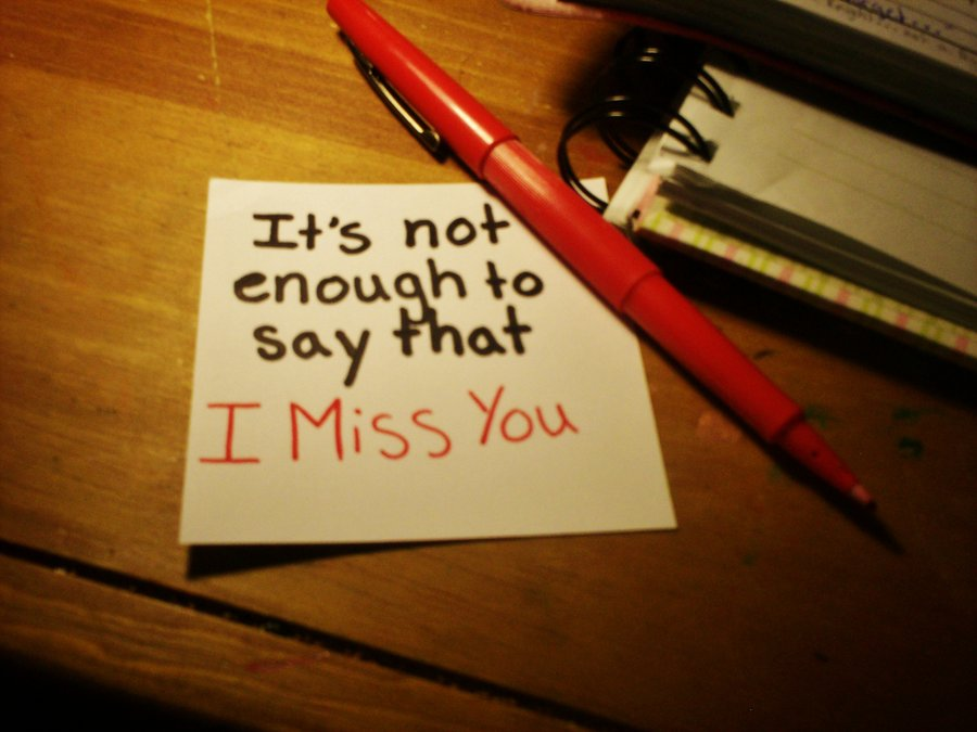 Best miss you quote