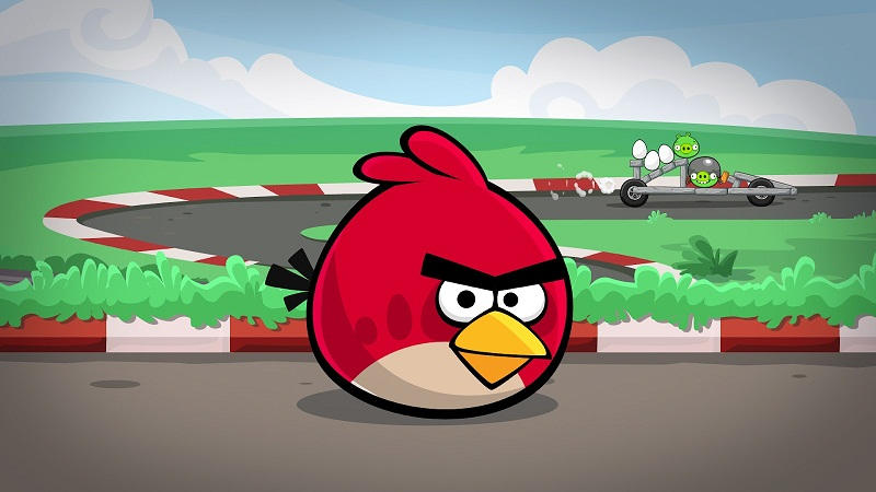 On Road angry birds pictures