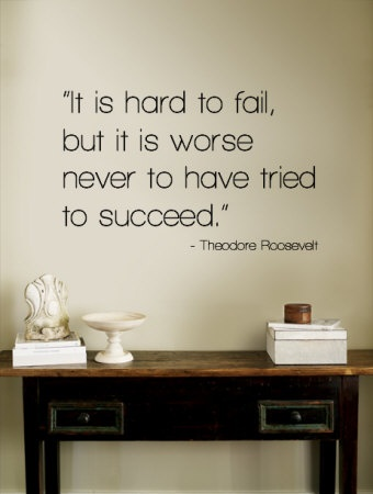 It's hard to fail daily quotes