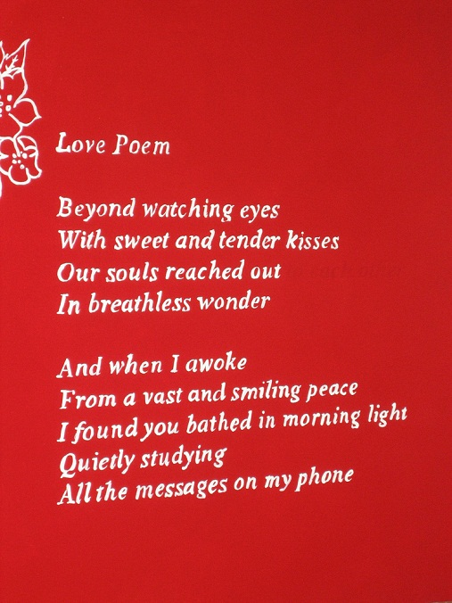 love poem for her