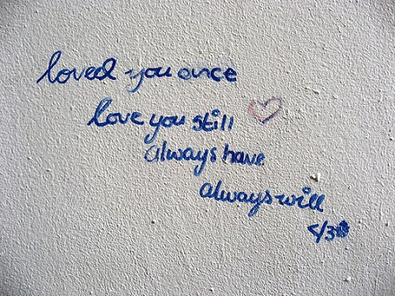 Loved you once, love you stilll love poem for her