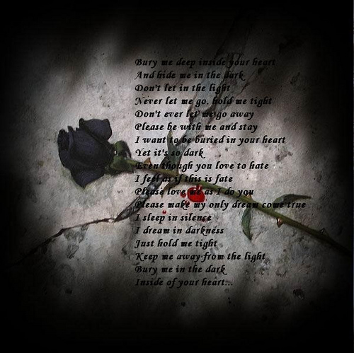 Sad poem romantic poem