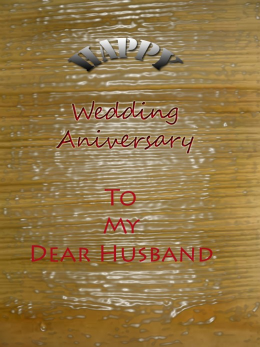wedding anniversary wishes for husband