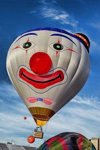 Face Paint balloons