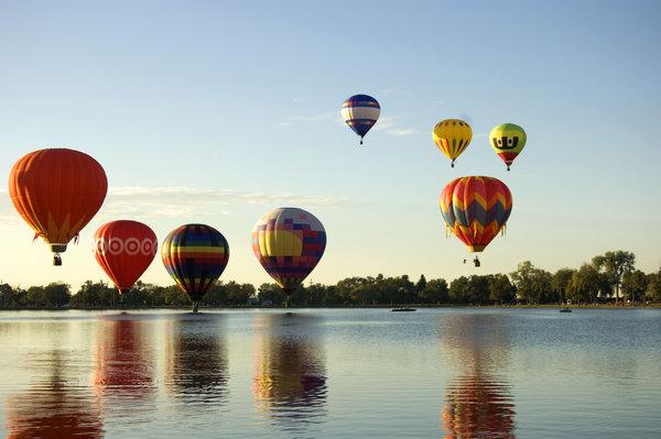 Cool air balloon