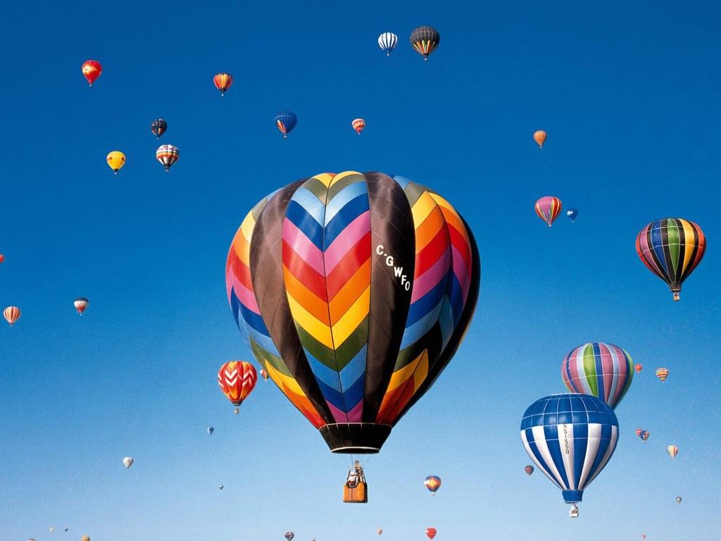 Cool hot air balloons