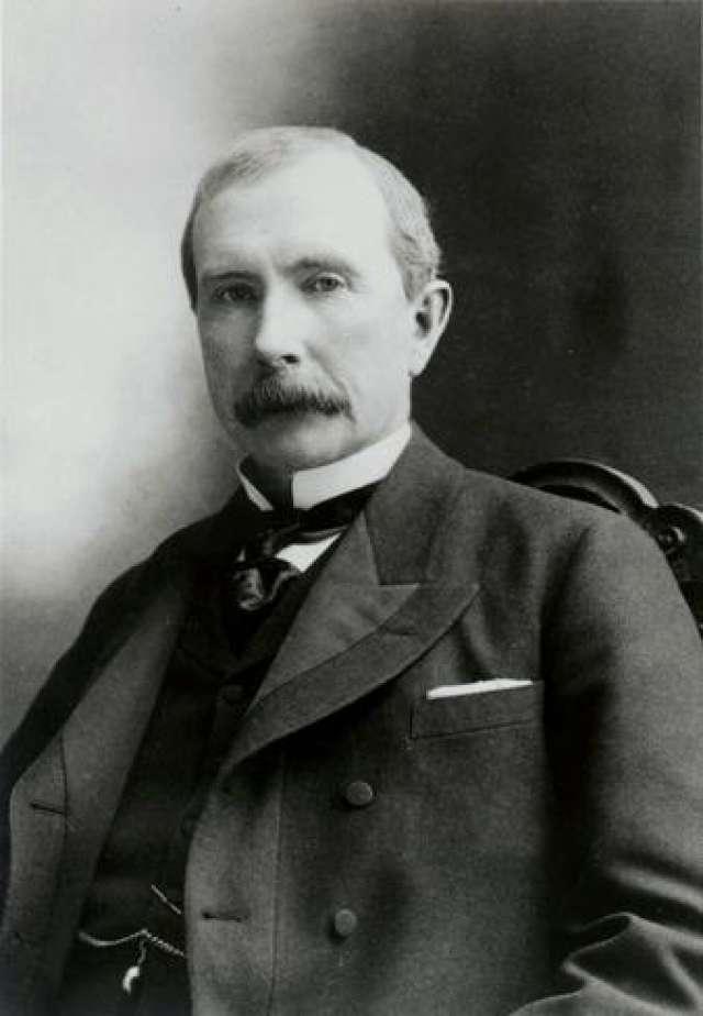John Davison Rockefeller famous person