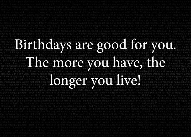 birthday quote