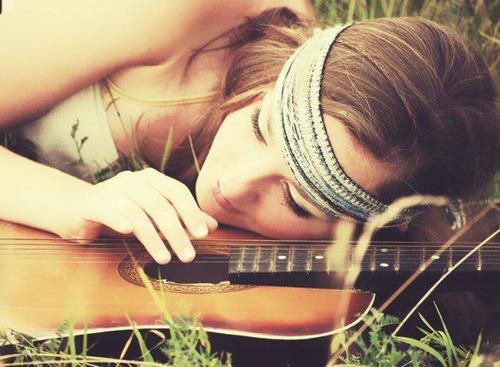Guitar Lover fashion photography