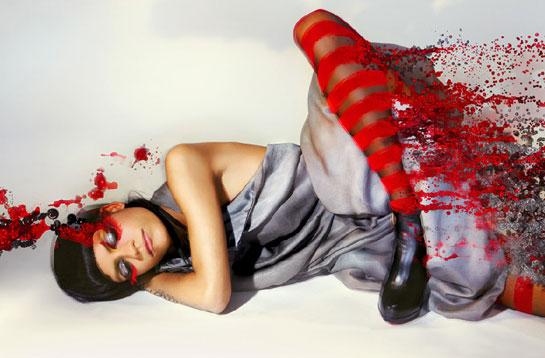 Red Fashion high fashion