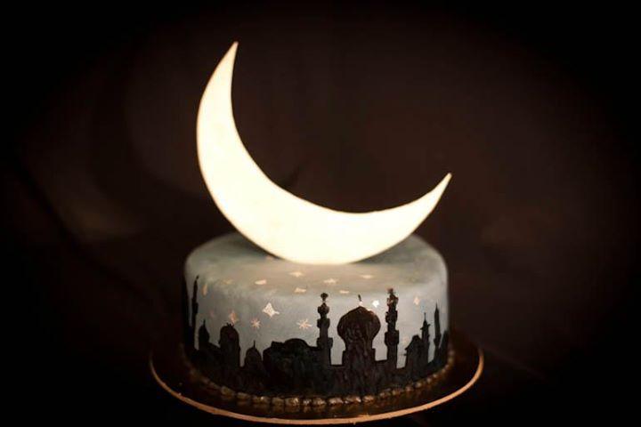 Hot Eid Cake eid mubarik