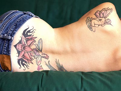 Full Back Tattoo cool tattoo design for women