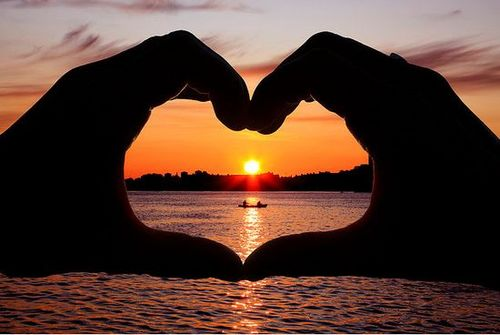 Heart Pictures sunset pictures