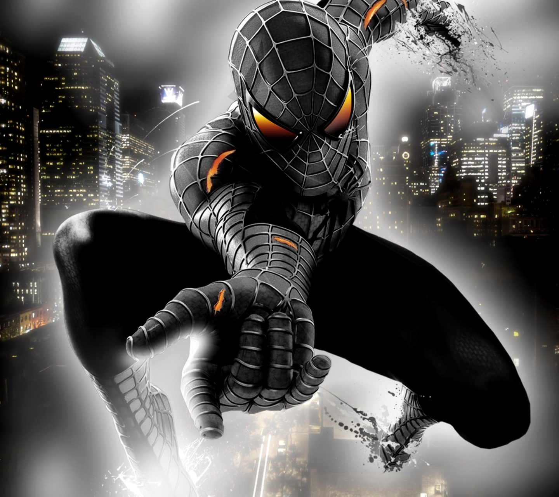 Black Spiderman spiderman pictures