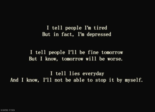 Am feeling depressed quotes