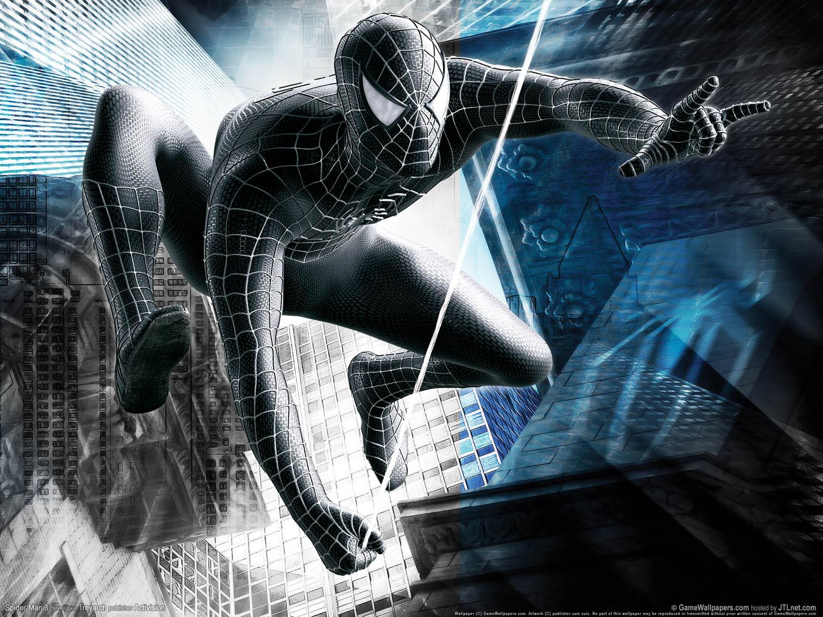 Black Beauty spiderman
