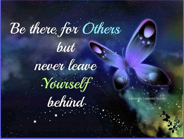 Never Leave Yourself Behind for others beauty quotes
