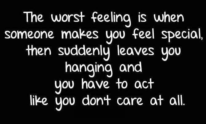 The worst feeling is when.. feel good quotes